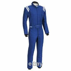 FIA Racing Suit SPARCO CONQUEST R-506 Rally Race Entry Level Overall Blue STOCK