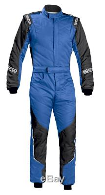 FIA Racing Suit SPARCO ENERGY RS-5 Rally RS5 Race Overall Blue Black