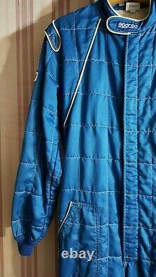 FIA Racing Suit SPARCO Overall Blue Warm Size 62