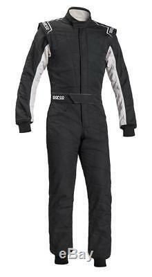 FIA Racing Suit SPARCO SPRINT RS-2.1 Rally RS2.1 Race Overall Black