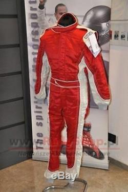 FIA SFI SUIT SPARCO PROFY size 54 RED Race Rally CLEARANCE SALE