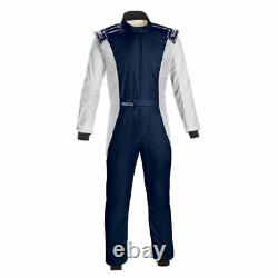 FIA SPARCO Racing Suit COMPETITION RS-4.1 BLUE flame resistant STOCK 21