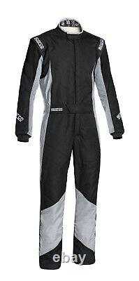 FIA SPARCO racing suit GRIP RS-4 BLACK/GRAY flame resistant STOCK 21