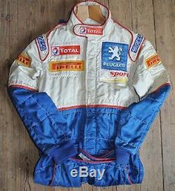 FIA Sparco Nomex Race Suit RS01201 FIA Standard 8856-2000 Pirelli Blue White 48
