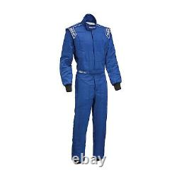 FIA Sparco Sprint RS-2 Race Suit, Blue, 2 Layer Racing Rally Track Day DELIVERY