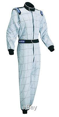 FIA Suit SPARCO CHALLENGER size 48 GREY Overall NOMEX CLEARANCE SALE