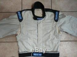 FIA approved (RS. 006.01) SPARCO R506 Fireproof Race Suit, size 52