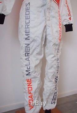 Formula 1 Hamilton F1 BOSS Vodafone McLaren Mercedes Sparco racing suit size 52