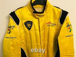 Genuine Alex Yoomg Team Malaysia A1GP Series Race used Suit Sparco F1