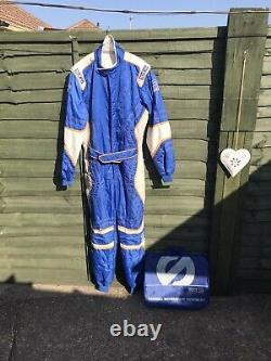 Genuine Sparco Karting Suit With Storage Bagusedlovely Colourssize XL