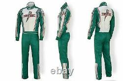 Go Kart OTK Sparco Tonykart KS-9 Race Suit Size 50 2015 Karting Racing Race