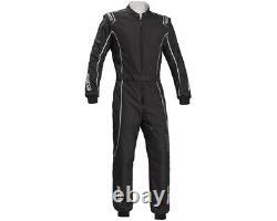 Go Kart Sparco Ks-3 Groove Kart Suit Black 130 Karting Racing Race