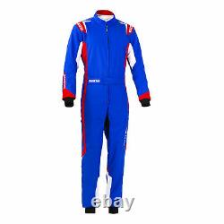 Go Kart Sparco Thunder Race Suit Blue / Red XS Karting Race Racing