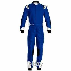 Go Kart Sparco X-Light Race Suit Blue / White 56 Karting Race Racing
