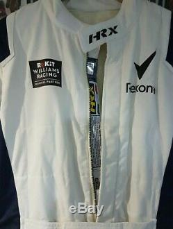 HRX Williams F1 fia Race Suit Size 60 sparco omp Alpinestars