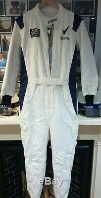 HRX Williams F1 fia Race Suit Size 64 sparco omp