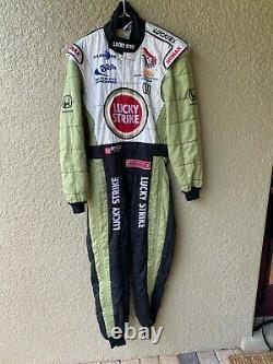 Jacques Villeneuve 2000 Bar Lucky Strike F-1 Race Worn/used Sparco, Drivers Suit