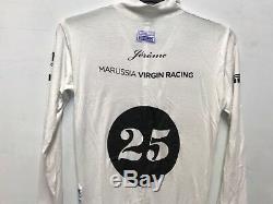 Jérôme d'Ambrosio Marussia F1 Formula One Team Race Worn Sparco Nomex Suit RARE