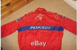 Jordan F1 Sparco race suit jacket 1995. RARE. Irvine & Barrichello