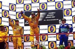 Jordan F1 Sparco race suit jacket 1998 sz L VERY RARE Hill Schumacher
