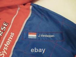 Jos Verstappen Footwork Arrows F1 Sparco race suit jacket sz L 1996 VERY RARE
