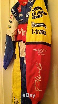 Lapierre Matmut Oreca Le Mans Series SPARCO Racing Suit Nomex FIA Tuta Pilota