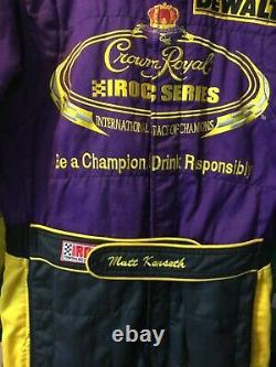 Matt Kenseth, Race Used Crown Royal Iroc Series Champion, Sparco Drivers Suit