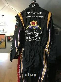 Matt Kenseth, Race Used Royal Crown Roush-fenway Racing, Sparco Cup Drivers Suit