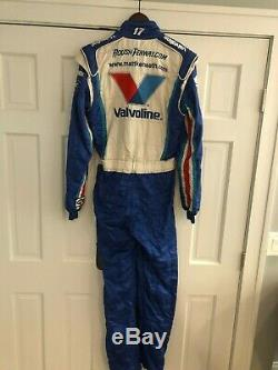 Matt Kenseth, Race Used Valvoline Roush-fenway Racing, Sparco Cup Drivers Suit