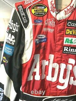 Matt Kenseth, Race Used/signed 2007 Arby's. / Roush Fenway Sparco Cup Drivers Suit