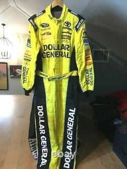 Matt Kenseth, Race Used/signed Dollar Gen. / Joe Gibbs, Sparco Cup Drivers Suit