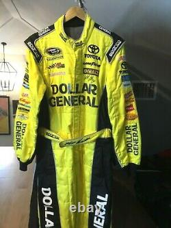Matt Kenseth, Race Used/signed Dollar Gen. / Joe Gibbs, Sparco Cup Drivers Suit