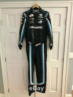 Matt Tifft, Joe Gibbs Racing, Signed Race Used Sirus XM Sparco Drivers Suit