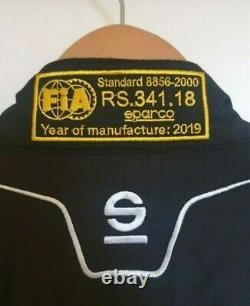 Men's Sparco Competition Plus Race Suit Year of Manufacture 2019 Never Worn