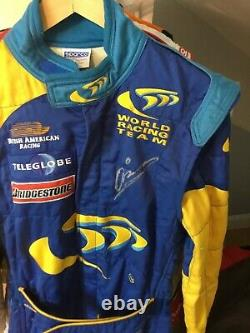 Mika Salo, Hand Signed, Race Used/worn Bar Honda Formula One Sparco Driver Suit