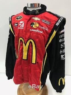 NASCAR 2 Pc Sparco Fire Suit Ganassi McMurray Race Used SFI 3-2A/5 C48/W38/L31