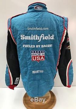 NASCAR 2pc SPARCO #43 PETTY Team Issued Fire Suit SFI 3-2A/5 Race Used 46/36/31