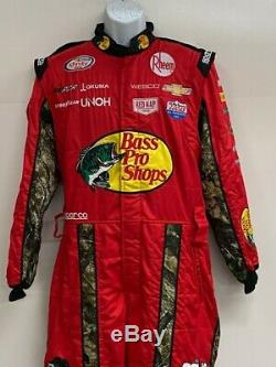 NASCAR RCR 1 PC Team Issued Race Used Fire Suit Sparco SFI 3-2A/5 C40/W32/L28