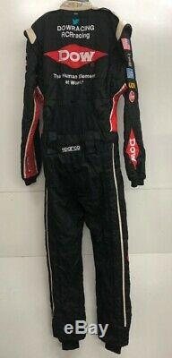 NASCAR RCR 1 PC Team Issued Race Used Fire Suit Sparco SFI 3-2A/5 C42/W34/L30