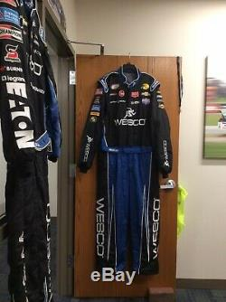NASCAR RCR 1PC Team Issued Race Used Fire Suit Sparco SFI 3-2A/5 C48/W44/L42