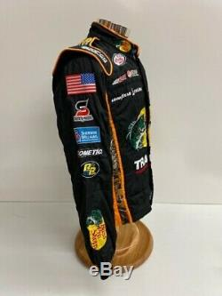 NASCAR RCR 2 PC Team Issued Race Used Fire Suit Sparco SFI 3-2A/5 C40/W30/L30