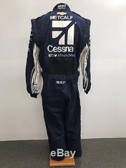 NASCAR Race Used 1pc Sparco Fire Suit SFI 3-2A/5 C36/W30/L32 Ganassi McMurray