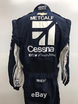 NASCAR Race Used 1pc Sparco Fire Suit SFI 3-2A/5 C42/W34/L33 Ganassi McMurray
