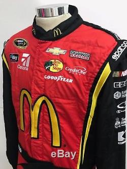 NASCAR Race Used 1pc Sparco Fire Suit SFI 3-2A/5 C44/W34/L33 Ganassi McMurray