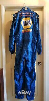NASCAR Race Used 1pc Sparco Fire Suit Winston Cup DEI Michael Waltrip 2002