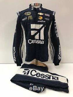 NASCAR Race Used 2pc Sparco Fire Suit SFI 3-2A/5 C48/W34/L31 Ganassi McMurray