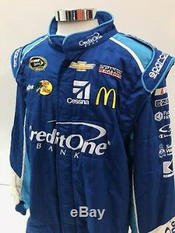 NASCAR Race Used 2pc Sparco Fire Suit SFI 3-2A/5 C48/W40/L31 Ganassi McMurray