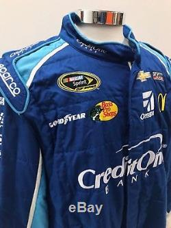 NASCAR Race Used 2pc Sparco Fire Suit SFI 3-2A/5 C48/W40/L32 Ganassi McMurray