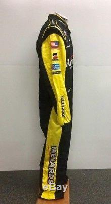 NASCAR Race Used Menard Sparco 1 pc Fire Suit RCR SFI 3-2A/5 46/36/31