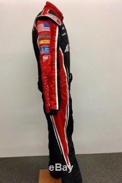 NASCAR Race Used Sparco 1 pc Fire Suit RCR SFI 3-2A/5 NICE! C40/W34/I30